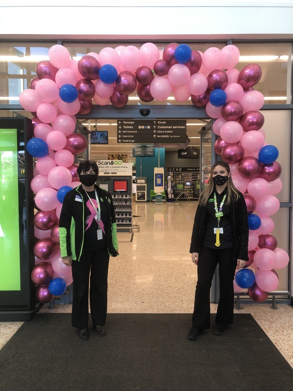 Proud to support Tickled Pink | Asda Cookstown