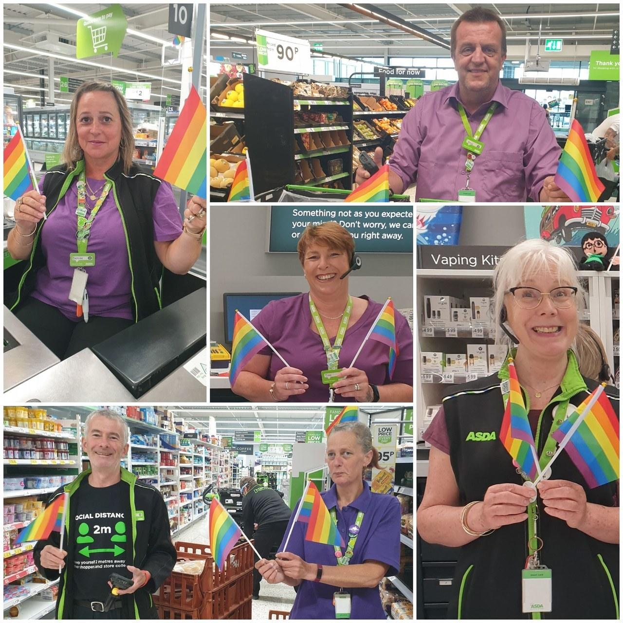 Purple Day at store | Asda Newport Isle of Wight