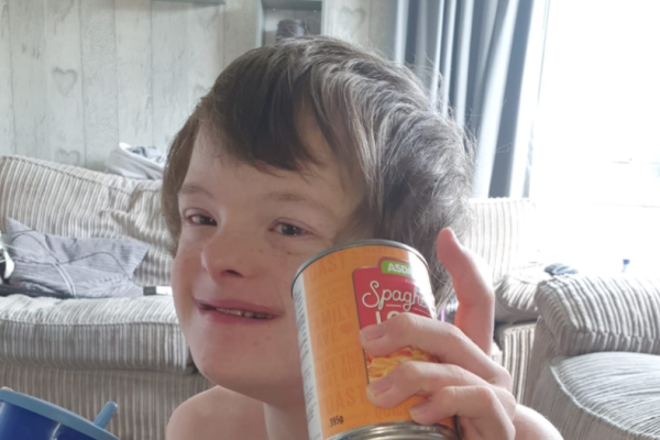 Lisa Calder appealed on Facebook for her son Duncan's favourite Asda Spaghetti Loops