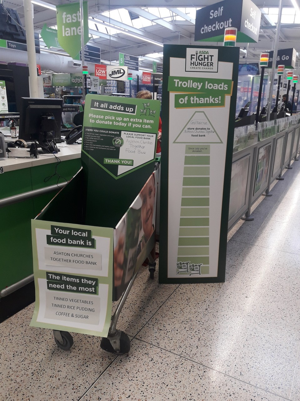 Fight Hunger Create Change at Asda Golborne  | Asda Golborne
