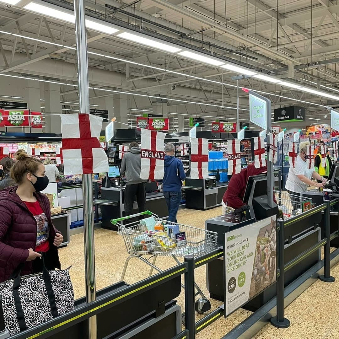 St George's Day At Asda Tilbury  | Asda Tilbury