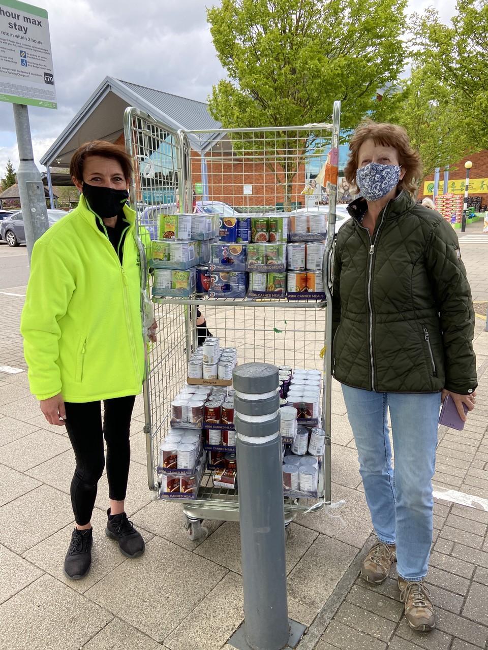 Foodbank support | Asda Biggleswade