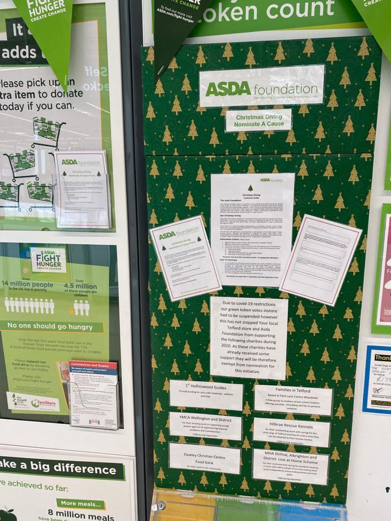 Christmas Giving nominations  | Asda Telford