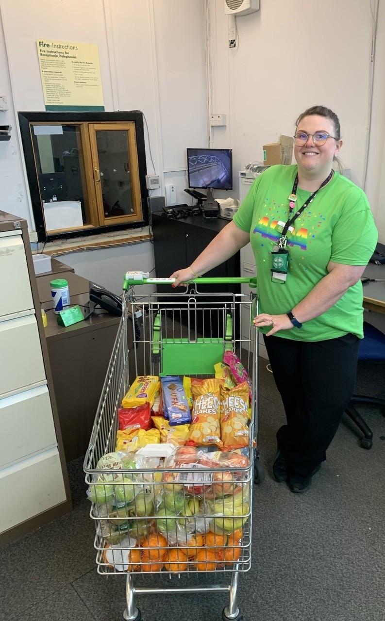 Snacks for nurses | Asda Bristol Whitchurch