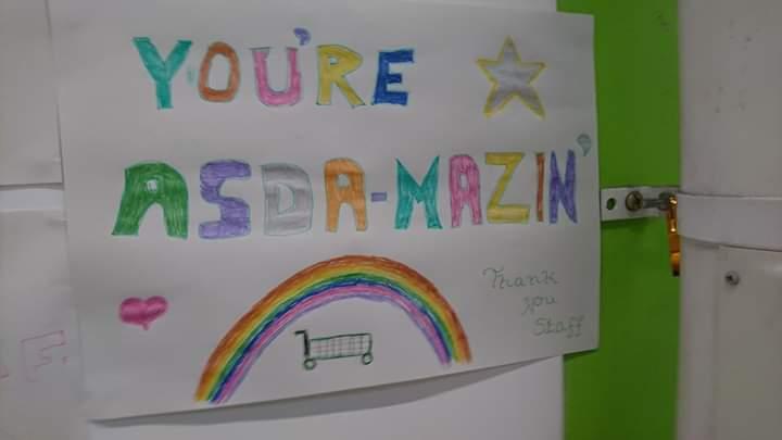 Rainbow posters | Asda Filton