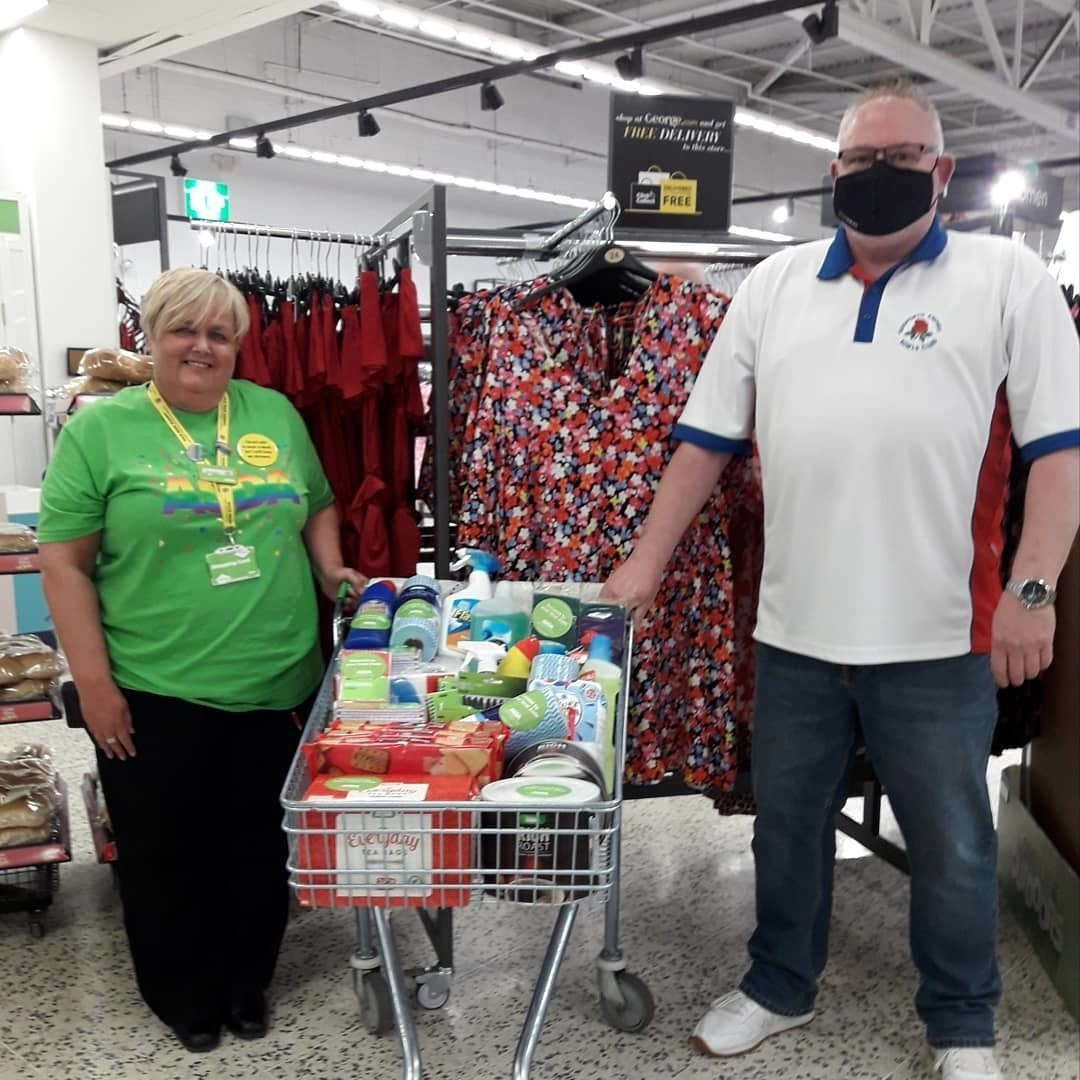 Donation to support the local bowling club | Asda Gosforth