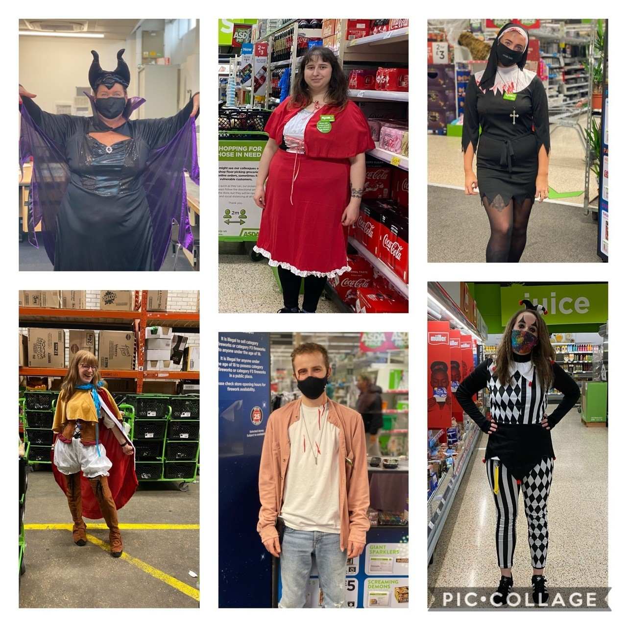 Halloween dressing up | Asda Gosport