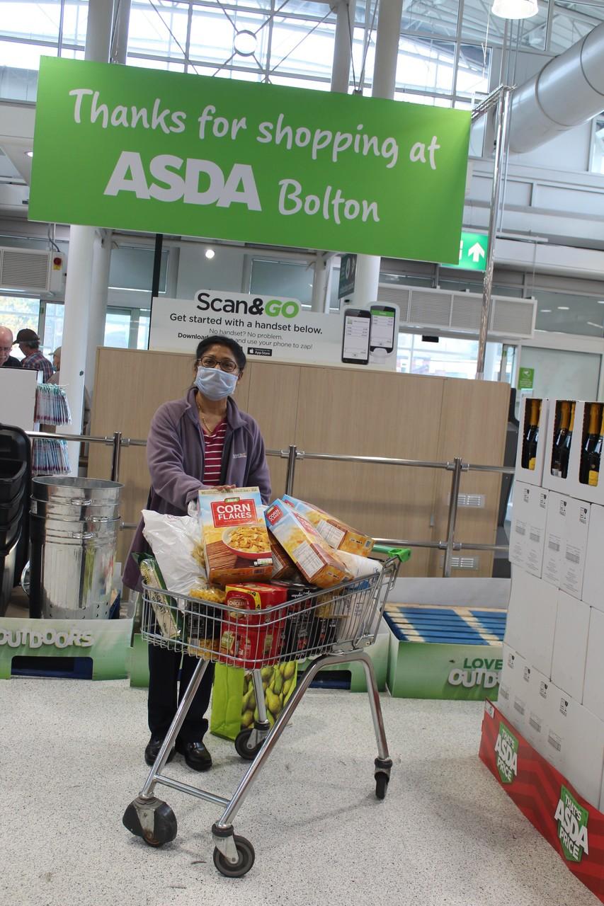 Donations to the Mandhata Community Centre | Asda Bolton