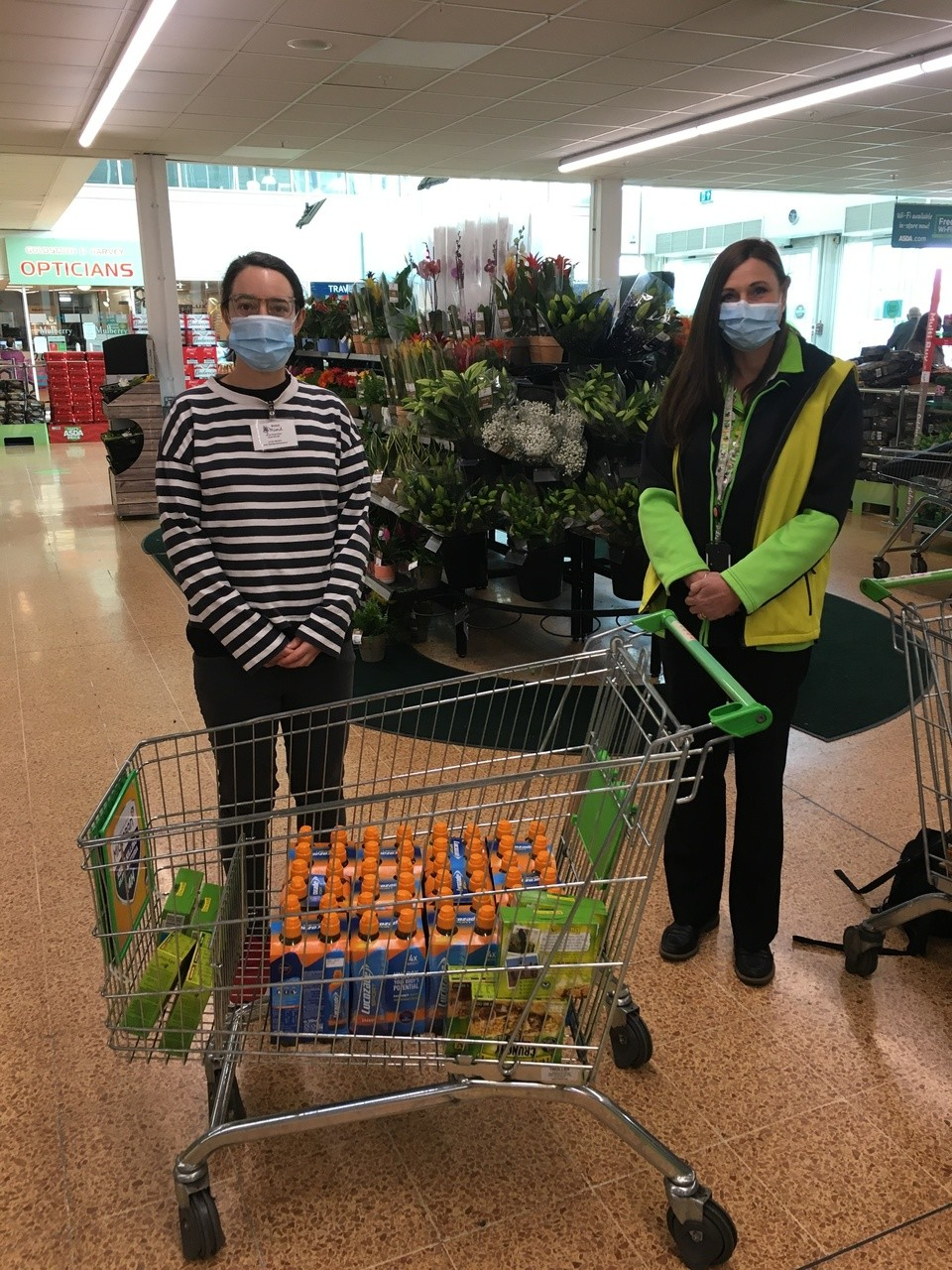 Store donation for Bristol Mind  | Asda Longwell Green