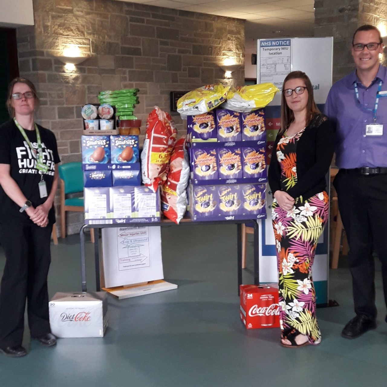 Donation to St Austell Foodbank | Asda St Austell