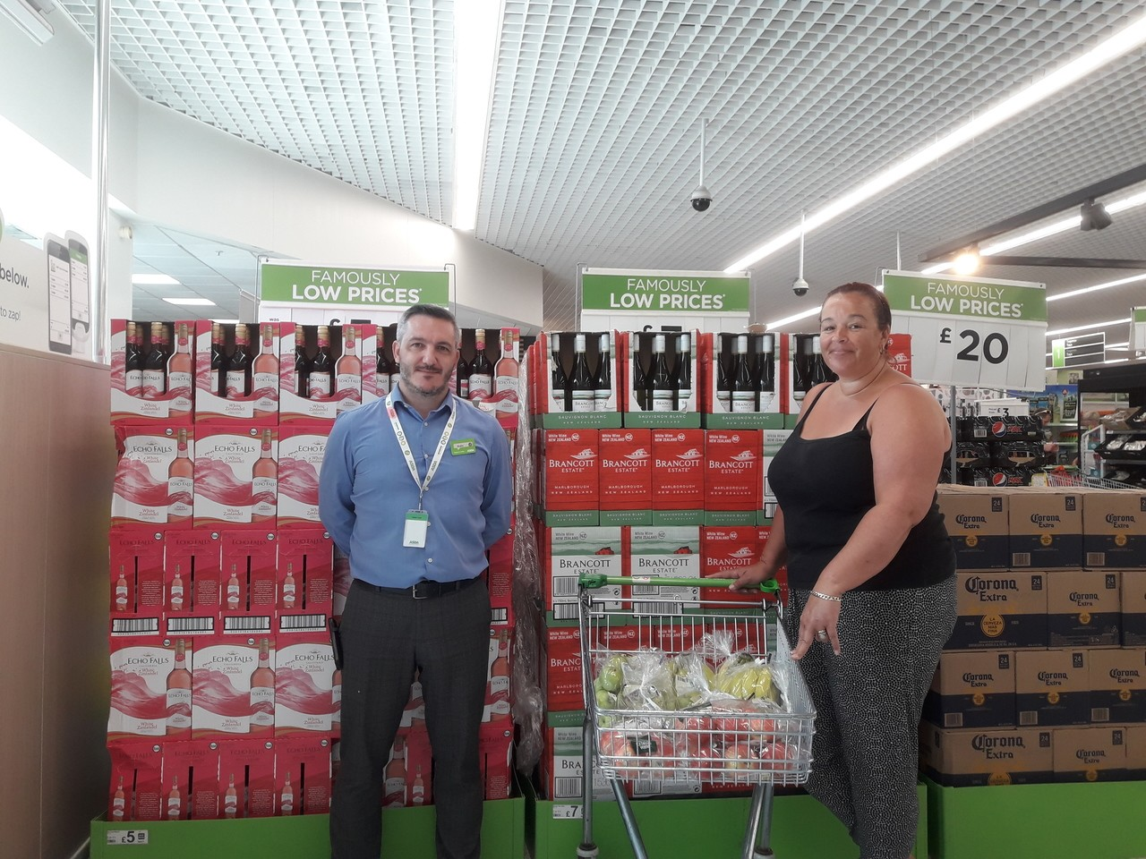 Donation to The Olive Branch Newport | Asda Newport
