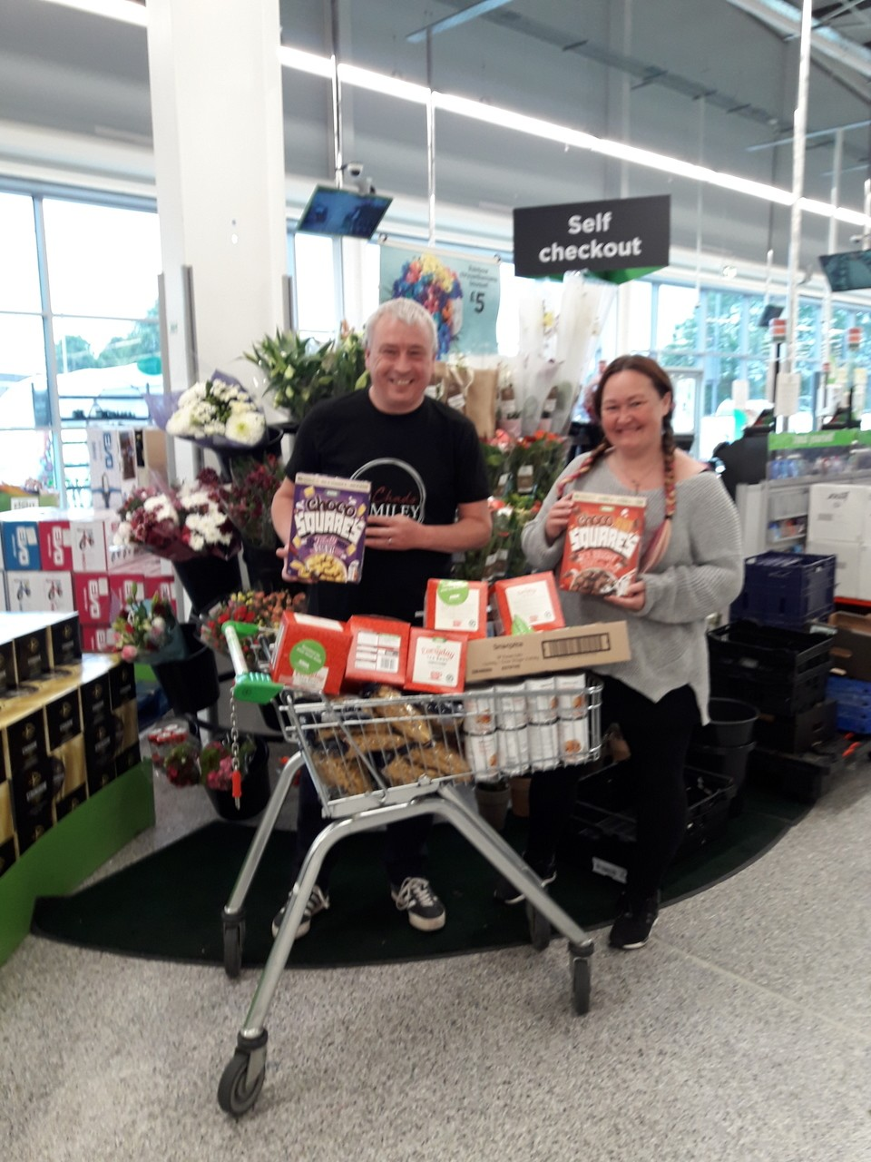 Donation to Cherry Tree | Asda Reddish