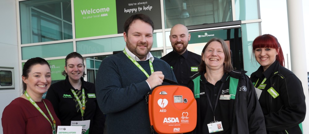 St John Ambulance first aid sessions at Asda Skelton