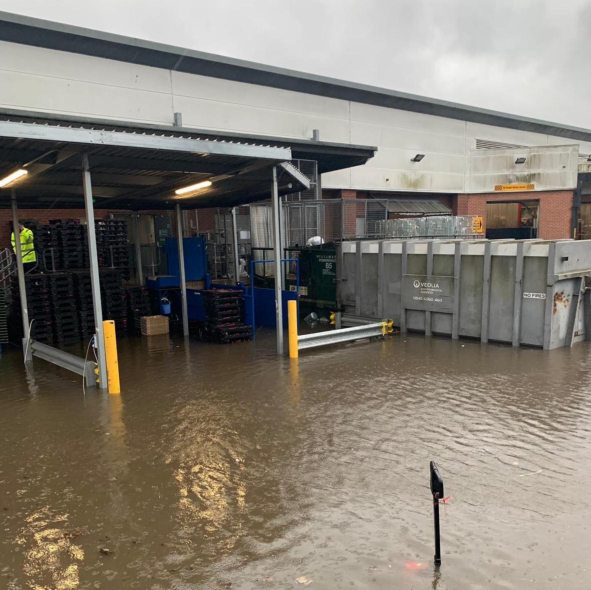 Asda Rochdale flooding