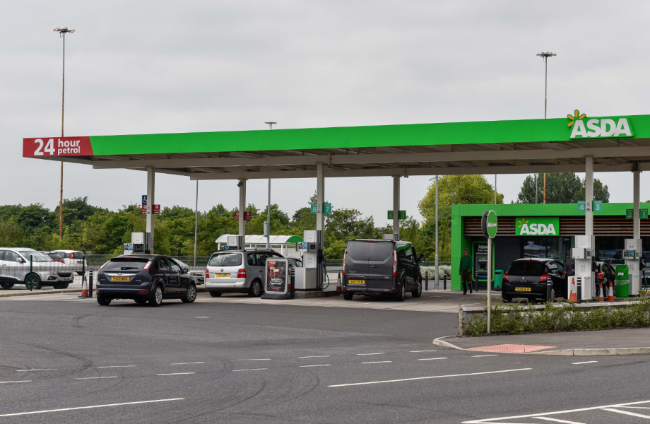 Asda drops unleaded price down to below 1.20 mark for first time since April