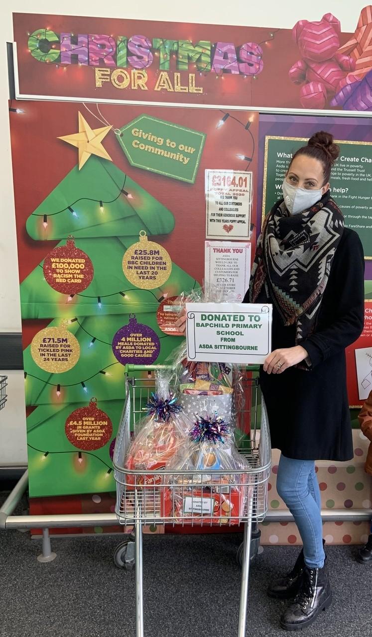 Bapchild Primary School Donation | Asda Sittingbourne