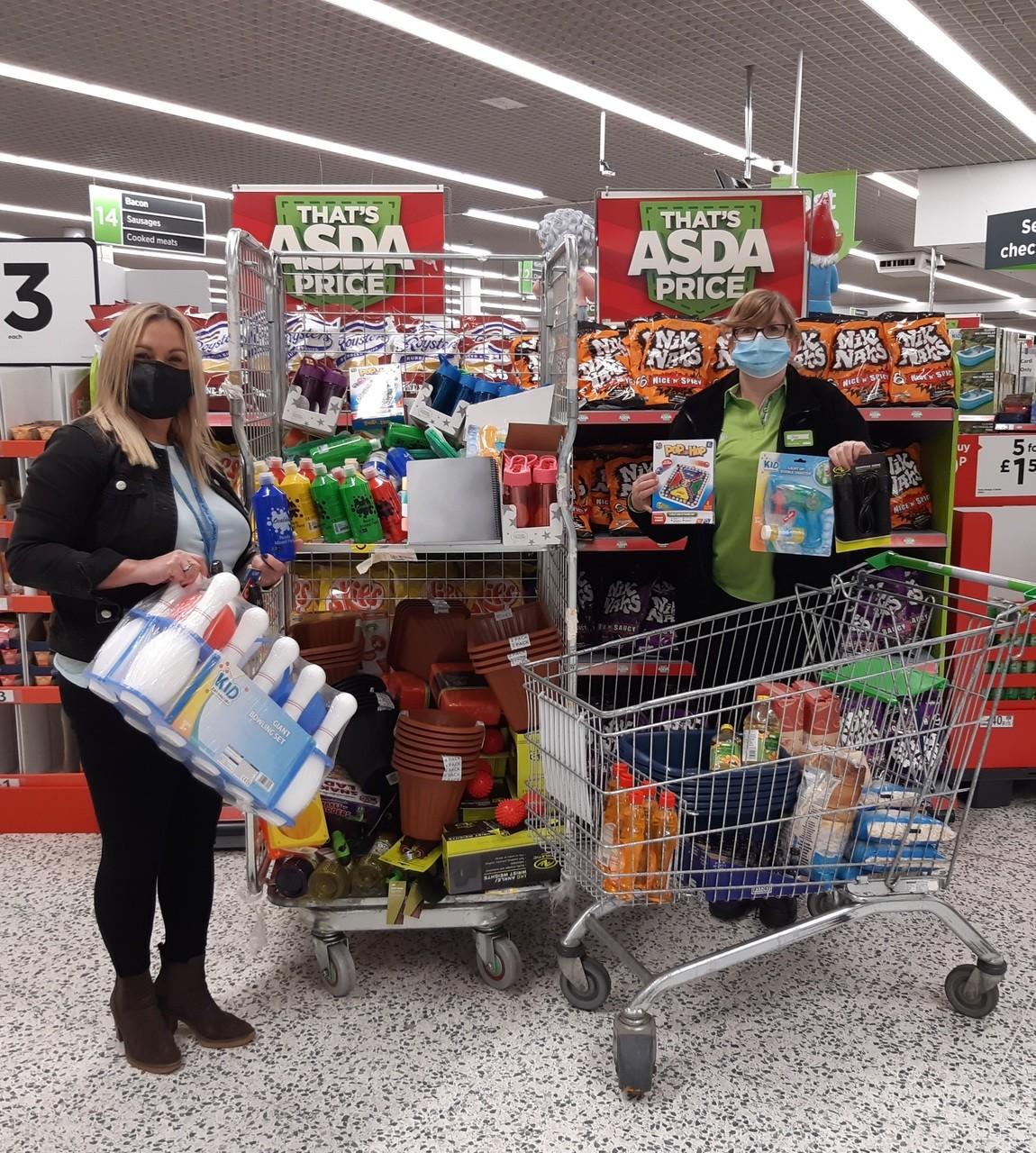 Asda Foundation Supporting Communities Grant Donation | Asda Kirkcaldy