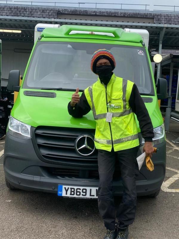 Asda Fulwood delivery driver John Bryant