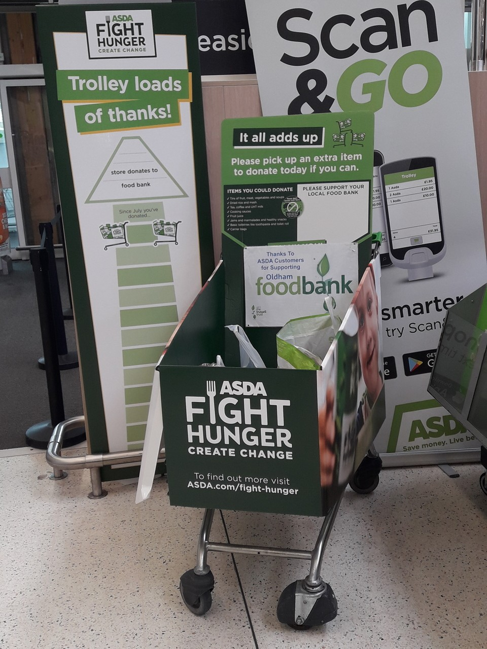 Fight Hunger support | Asda Shaw