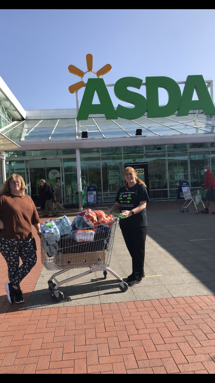 Donation to Scouts | Asda Cardiff Bay
