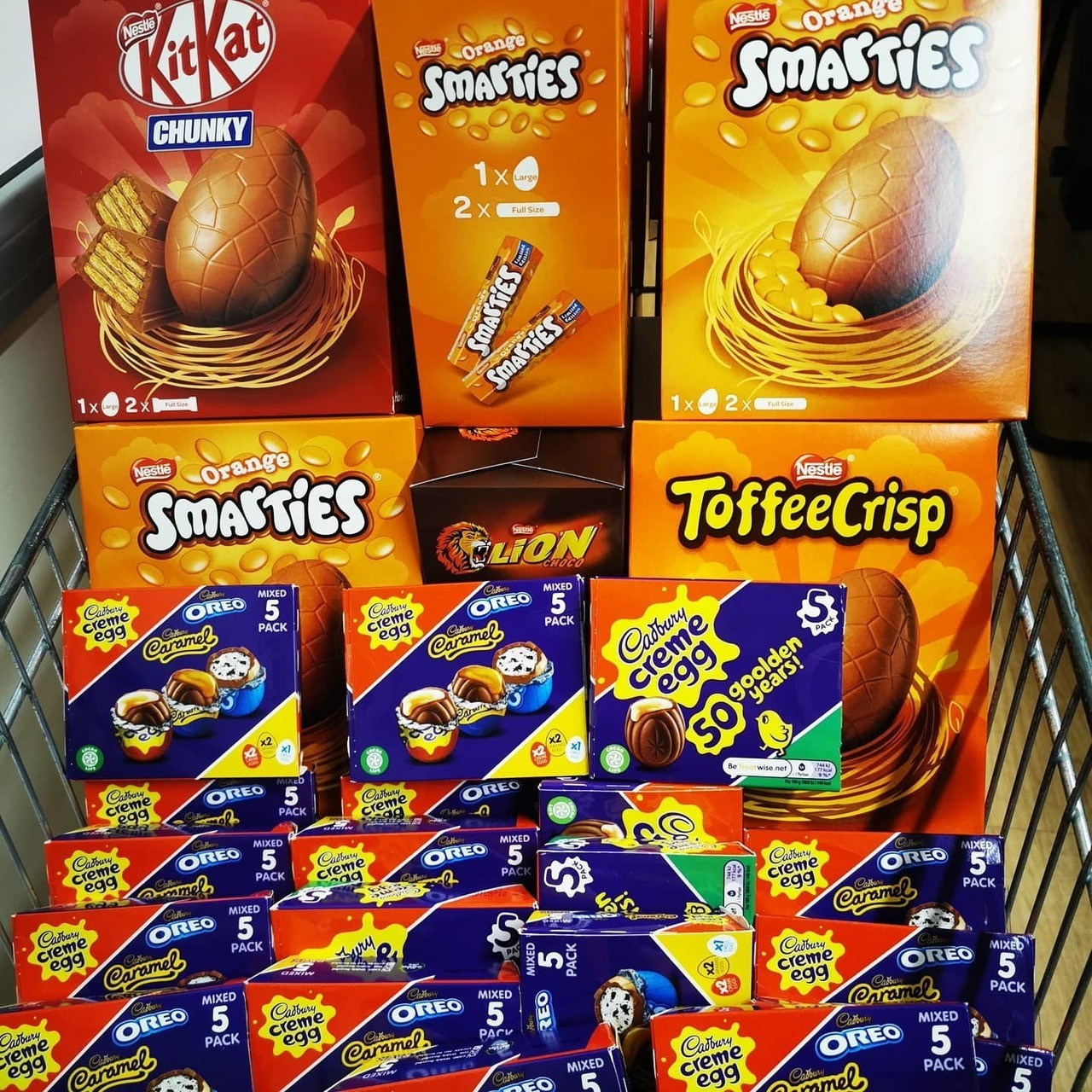 Donating Easter Eggs to local community  | Asda St Leonards on Sea