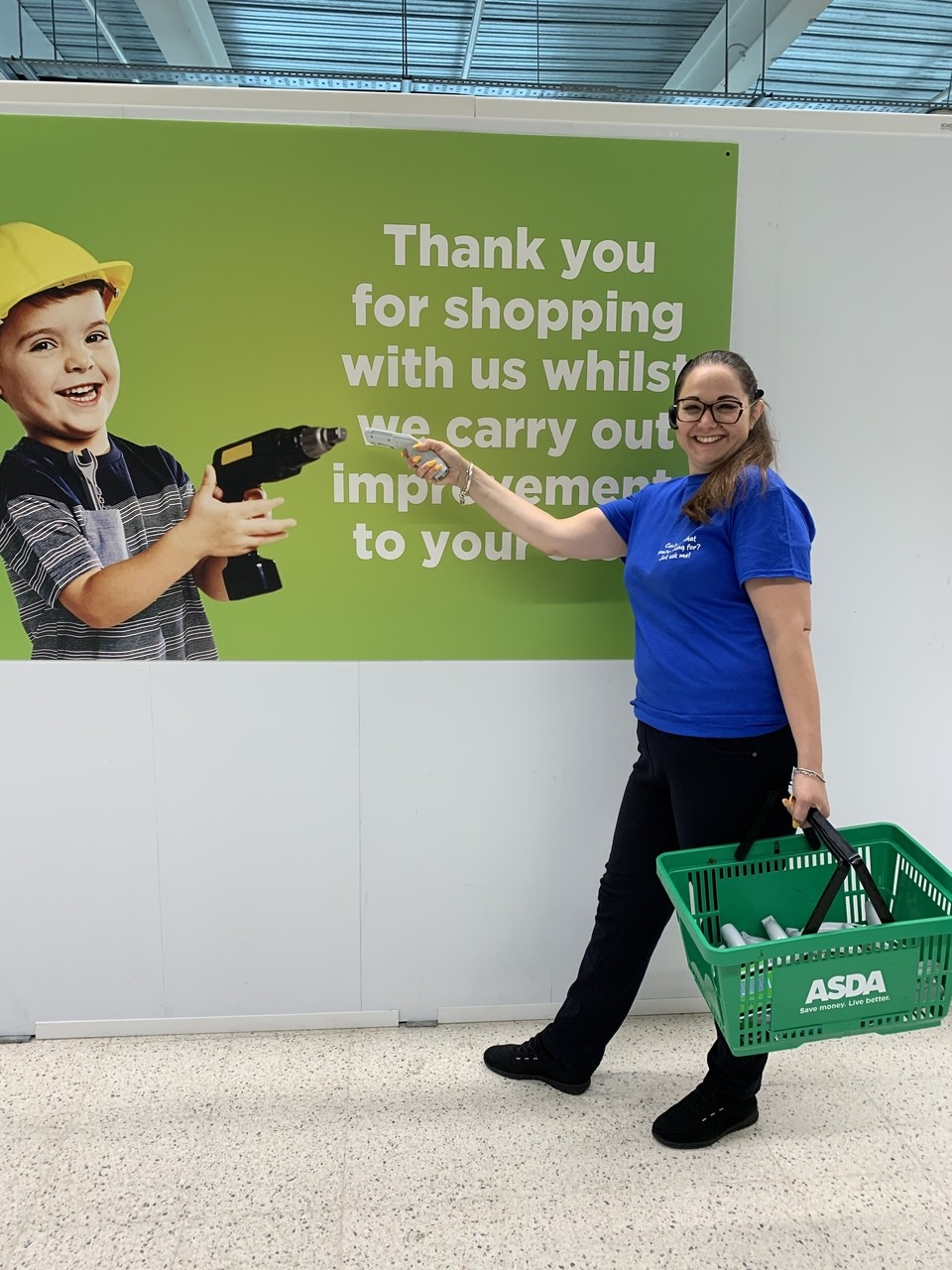 Asda Feltham's big refit makes good progress | Asda Feltham