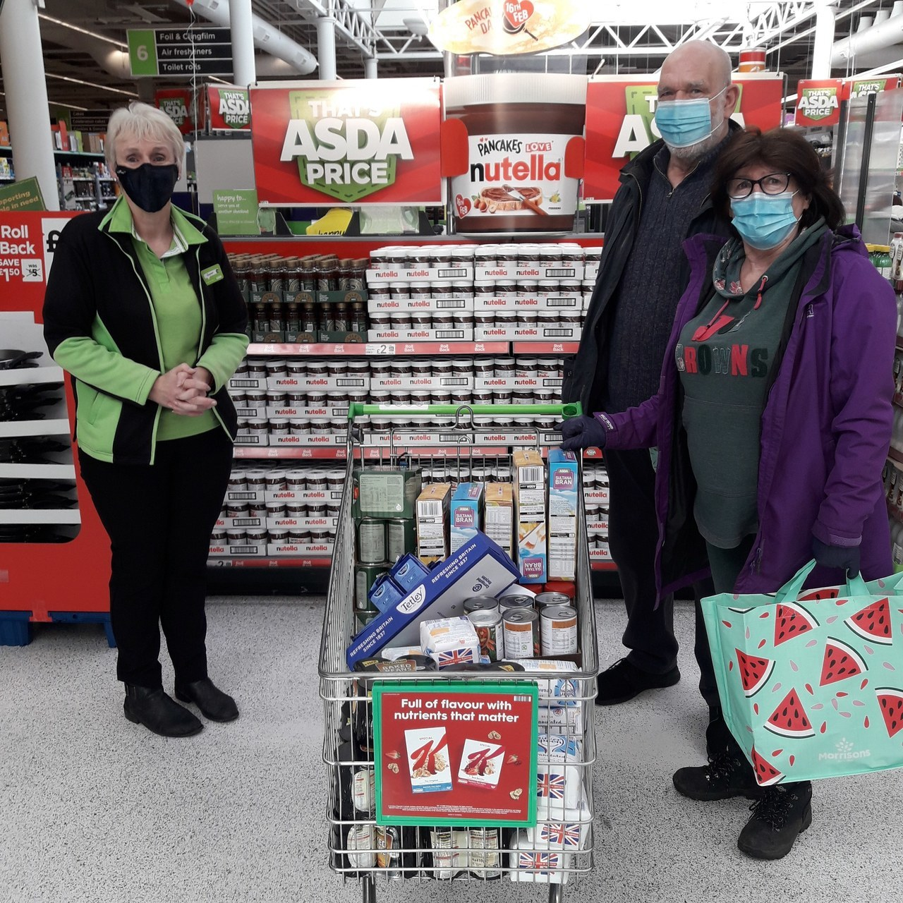 Donation to local church | Asda St Helens