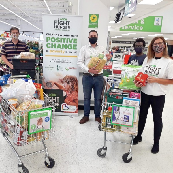 Asda is donating the equivalent of one million meals to food charities this Christmas