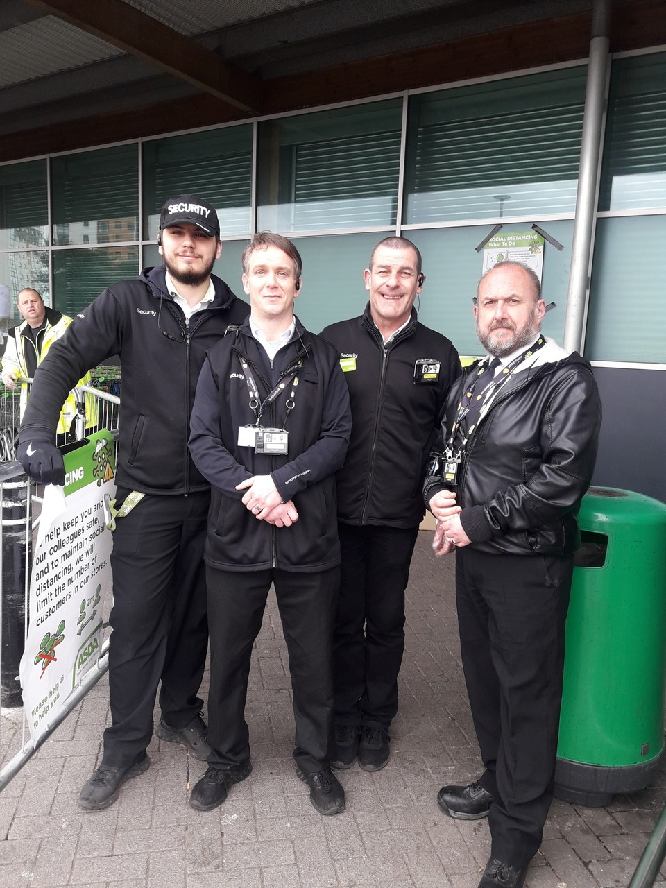 Thanking our security guys | Asda Bootle