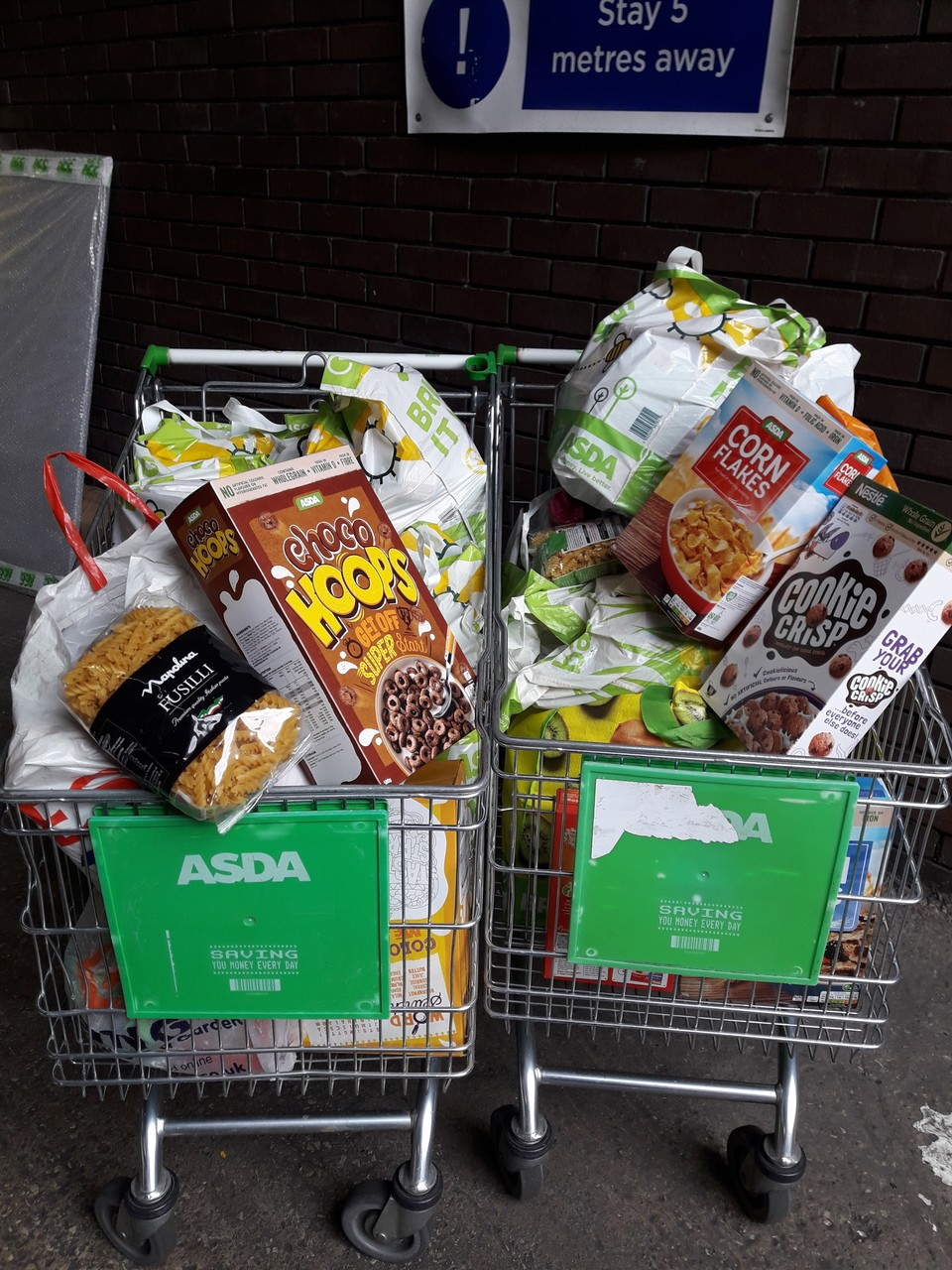 Fight Hunger support  | Asda Chapeltown