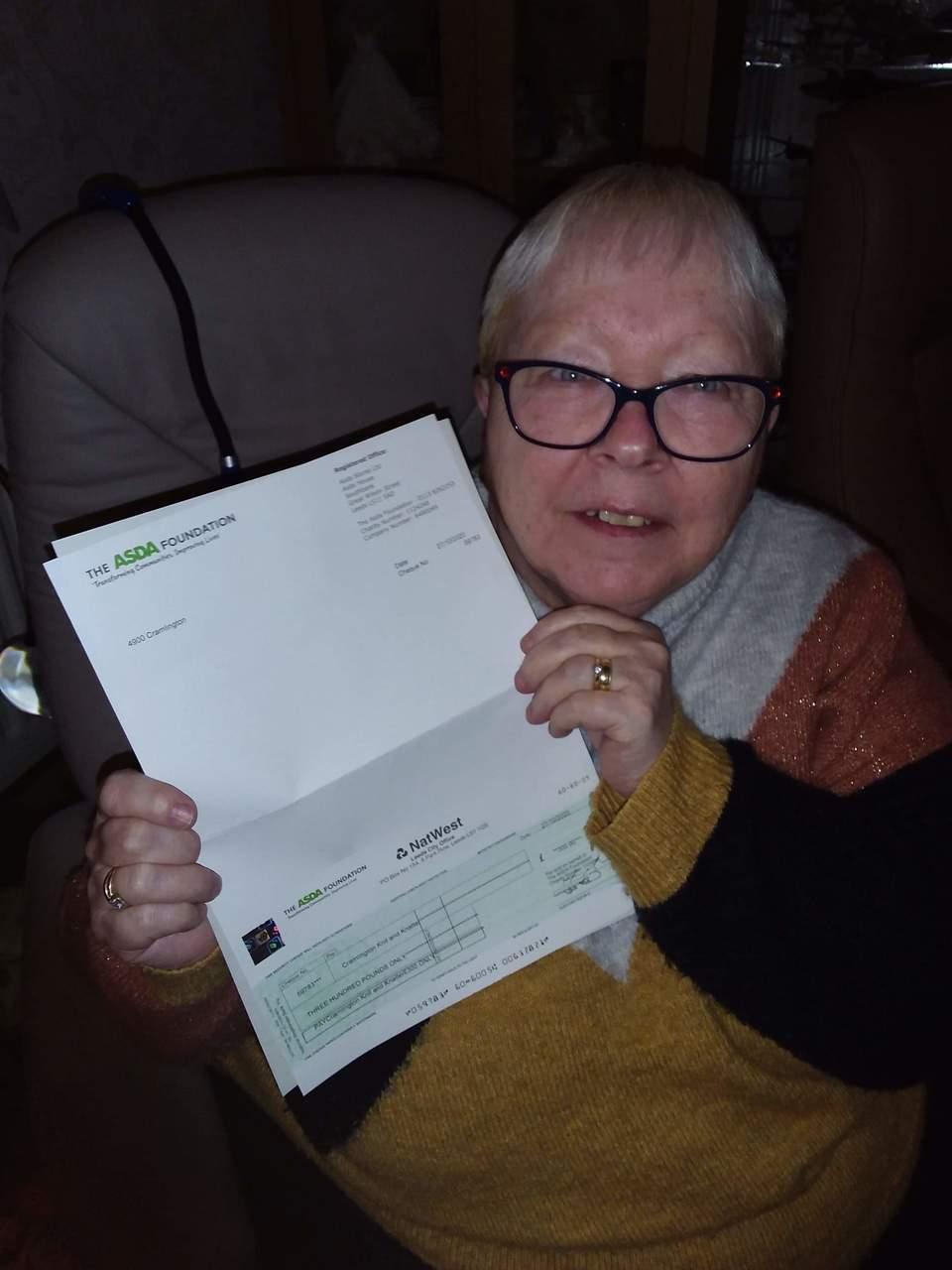 £300 grant to knitting group | Asda Cramlington