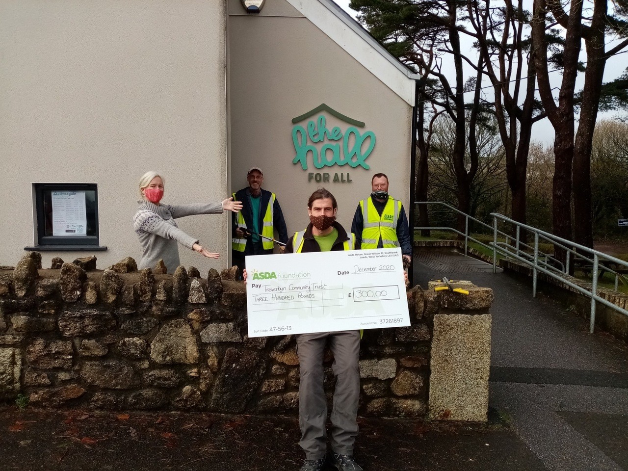 Christmas giving – Treverbyn Community Hall | Asda St Austell