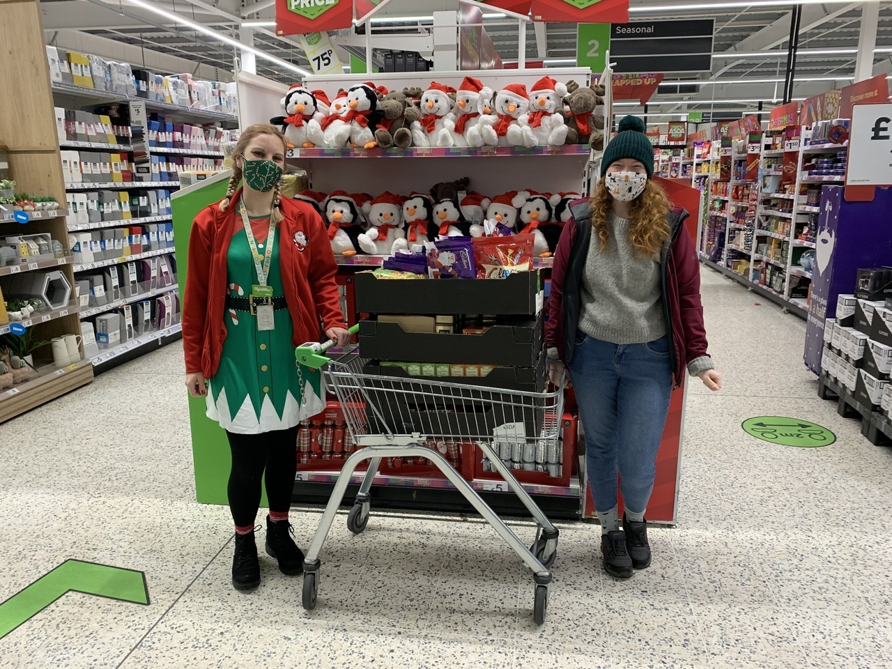Sanctuary Supported Living donation  | Asda Clacton-on-Sea
