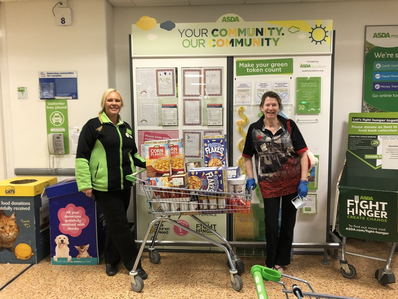 Supporting a new food bank  | Asda Derby