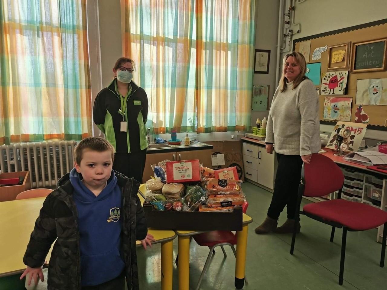 Birches Primary School donation | Asda Portadown