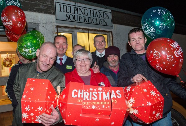 Asda Foundation Christmas surprise for Helping Hands Soup Kitchen