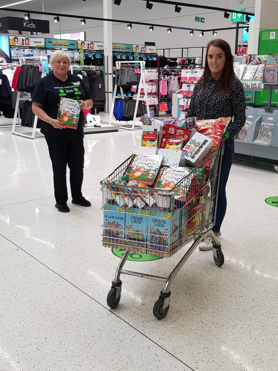 Care home donation | Asda Antrim