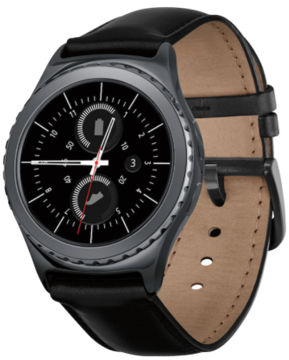 Cropped Samsung Watch
