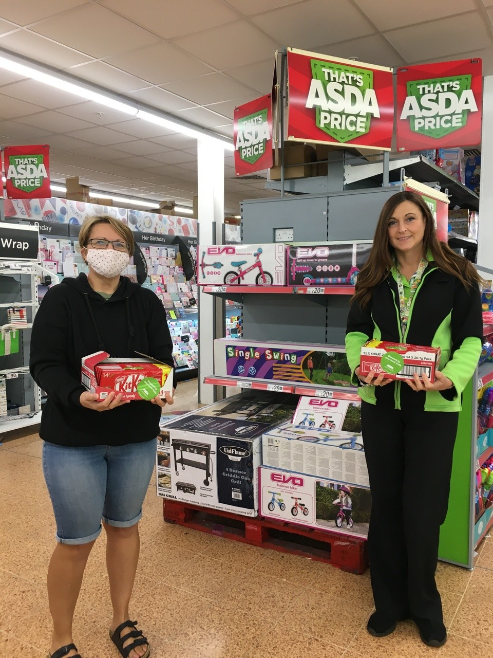 Donations for Bristol After Stroke Centre | Asda Longwell Green