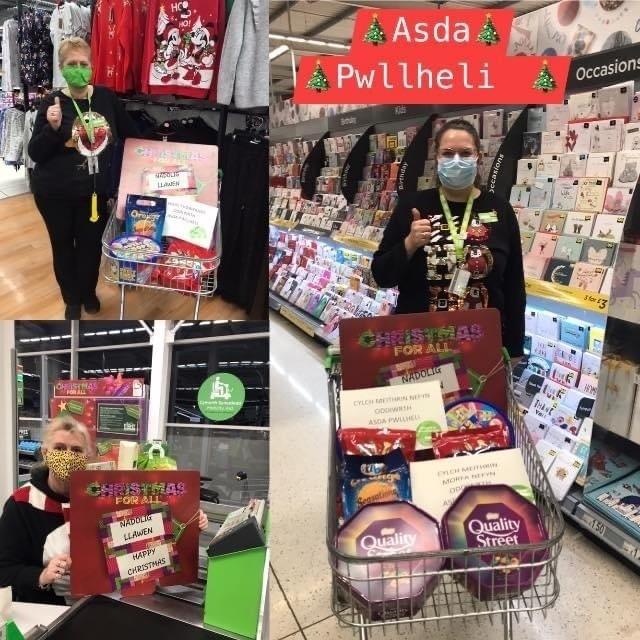 Donations to | Asda Pwllheli