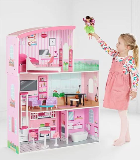 Wooden toys - Fashion dolls' house