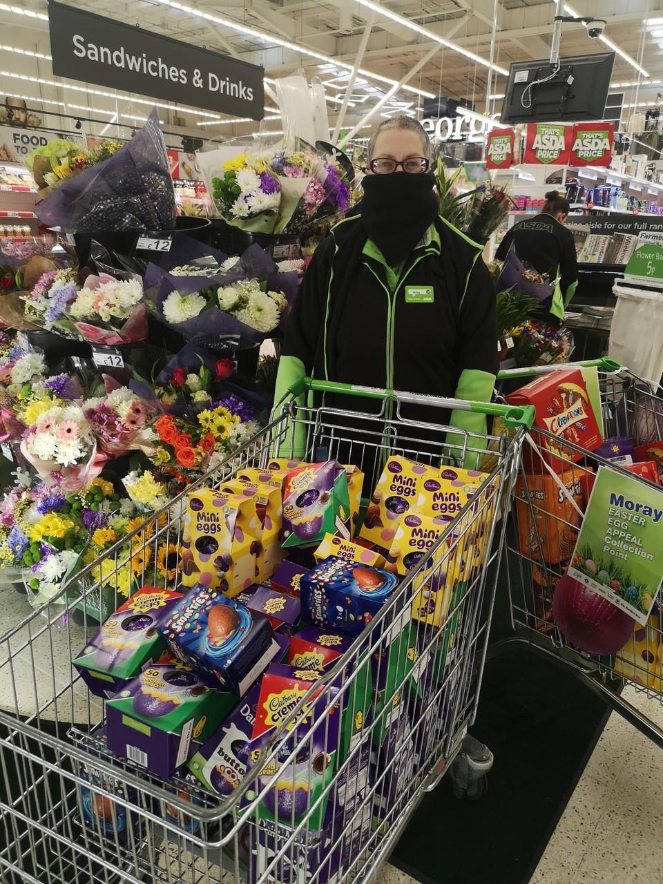 Easter egg appeal success | Asda Elgin