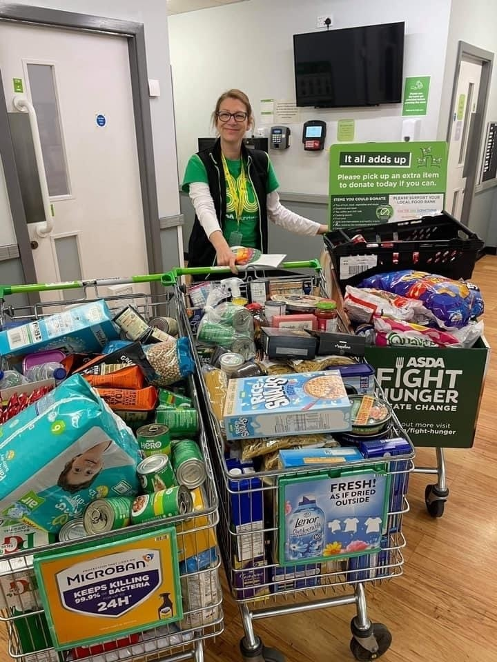Fight hunger food drive | Asda Wakefield