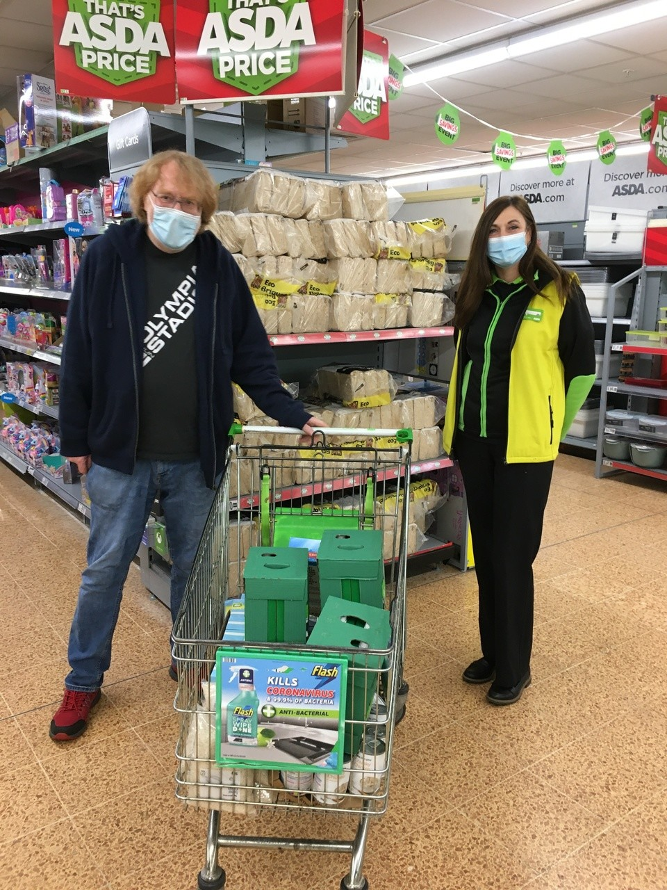 Store Donations  for Bourne chapel Kingswood Food Bank  | Asda Longwell Green
