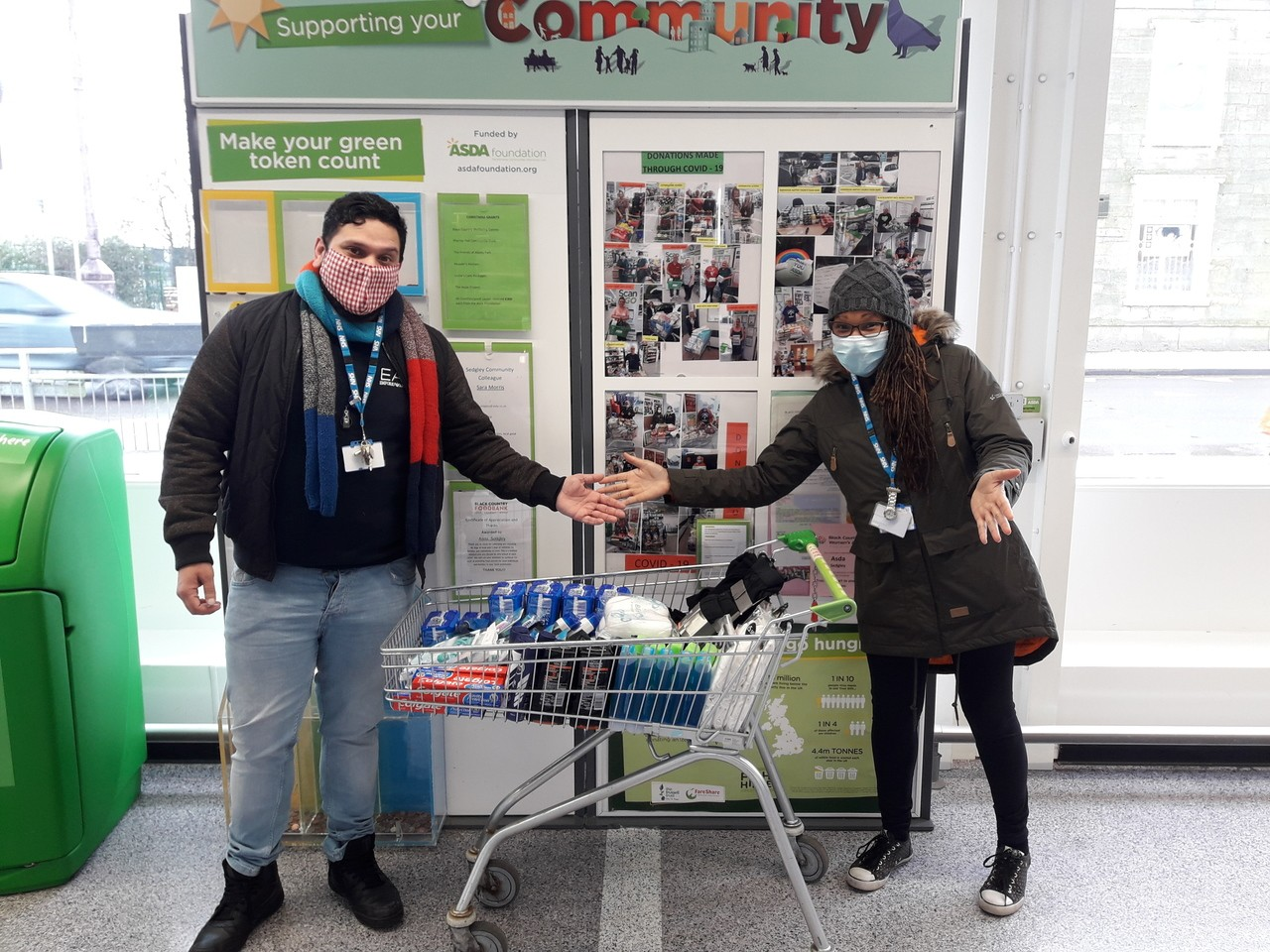 Donation | Asda Sedgley