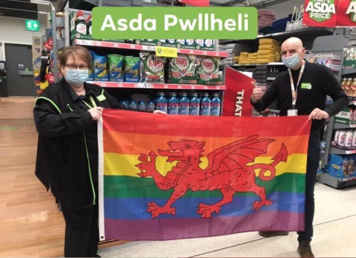 LGBT+ February History and Awareness Month   Asda Pwllheli