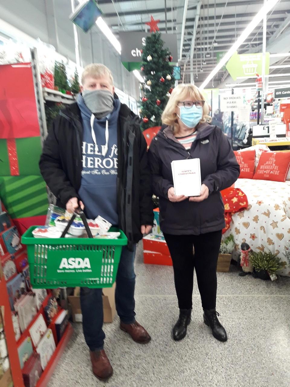CHRISTMAS CARDS IN THE COMMUNITY | Asda Reddish