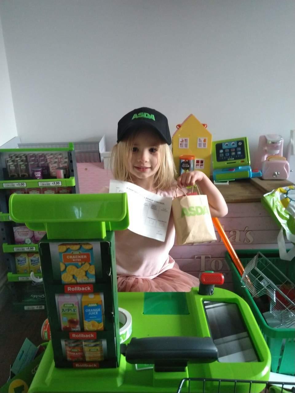 Happy birthday to young Asda fan Ellie | Asda Kingshill