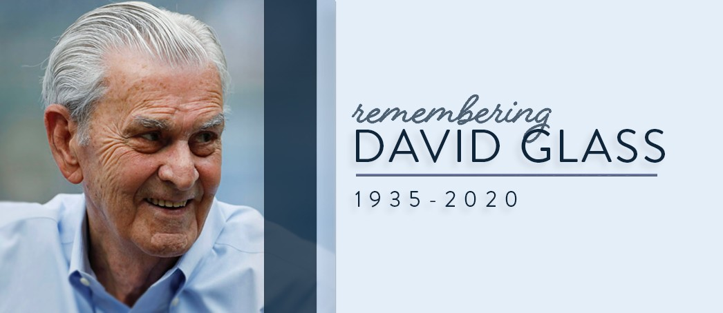 Remembering David Glass