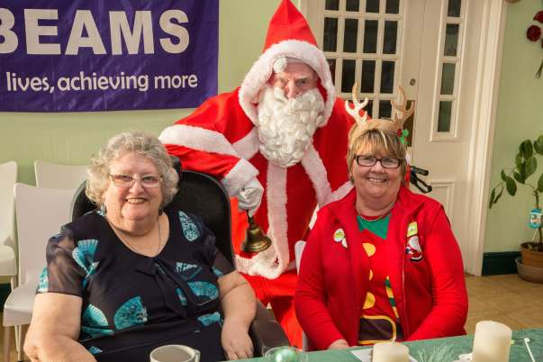 Asda Crewe Christmas surprise at Hopes & Beams